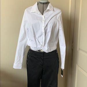 Ann Taylor Loft Nautical Inspired Trousers